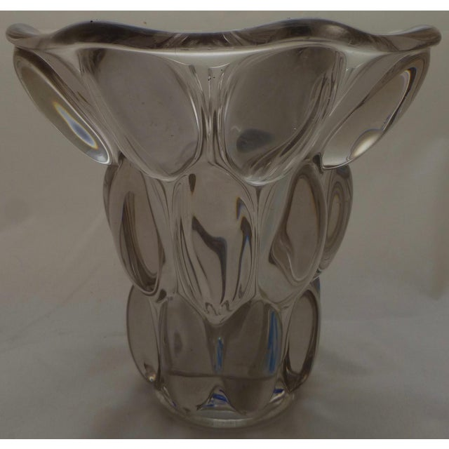 Mid-Century Modern Bubble Glass Vase - Image 9 of 11