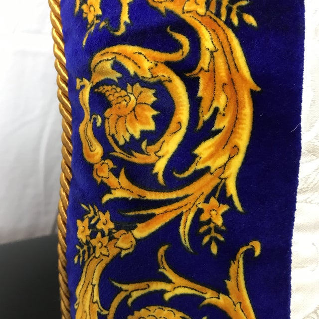 Versace Silk Pillow Cover - Image 5 of 7