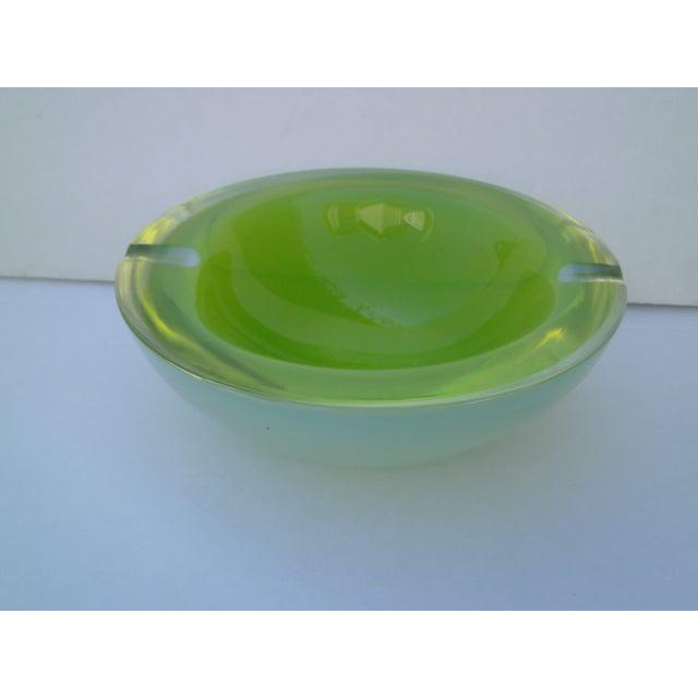 Archimede Seguso Murano Glass Geode Ashtray - Image 6 of 11