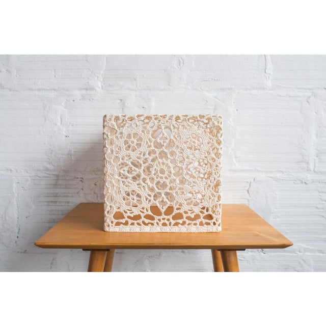 Marcel Wanders Crochet Table Cube - Image 2 of 6