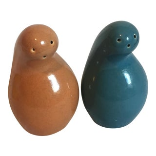 """Red Wing Town and Country """"Shmoo"""" Salt and Pepper Set"""