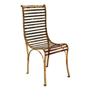 Single French Garden Chair