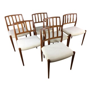 Niels Otto Moller Teak Dining Chairs - Set of 6