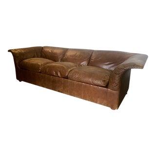 """Sofa """"Poltrona Frau"""" in Leather by Luigi Massoni"""