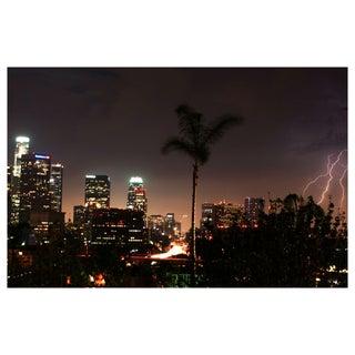 Lightning Over LA Photograph