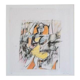 slant select -- Willem de Kooning