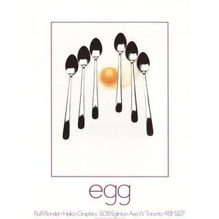 Raffi Rondel Egg Poster
