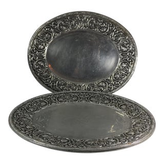 Wilton Armelate William & Mary Hollow Ware Tray
