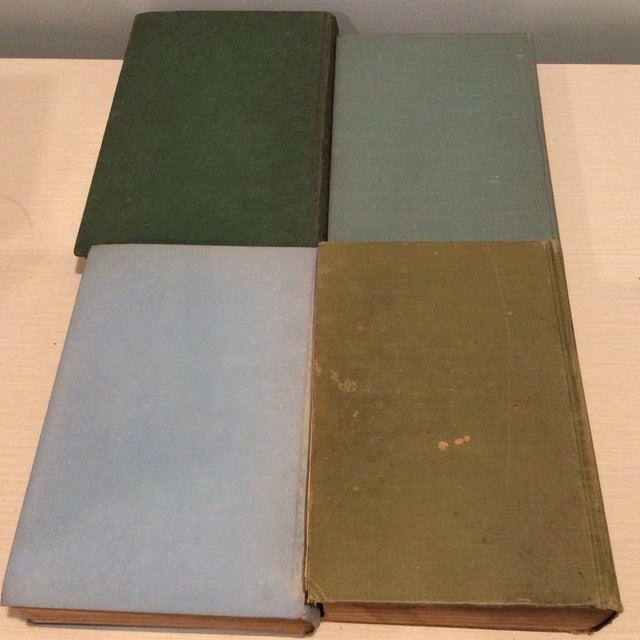 Vintage Green Book Stack - Set of 4 - Image 7 of 11