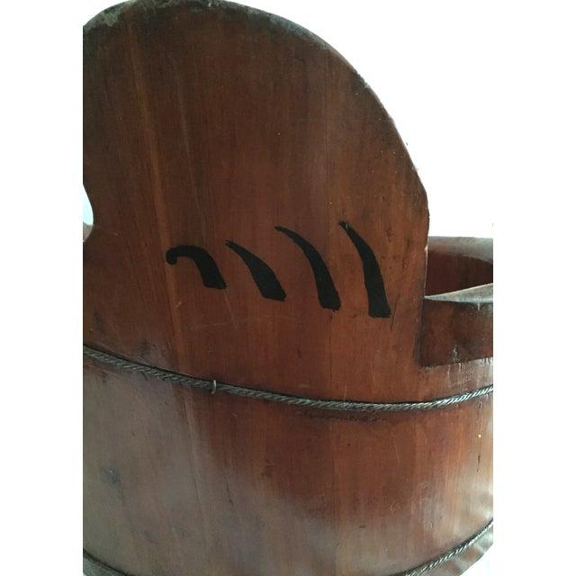 Asian Rosewood Crane Vessel - Image 6 of 7
