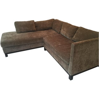 Mitchell Gold Sectional Sofa & Cushion