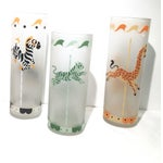 Image of 1950's Libbey Merry-Go-Round Glasses - 5