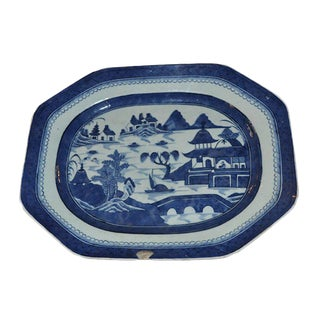 19th C. Canton Well Platter