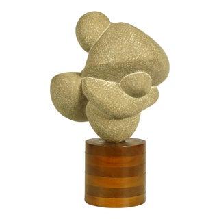 """1960s Robert Lockhart Stone Sculpture Titled """"Dancers"""""""