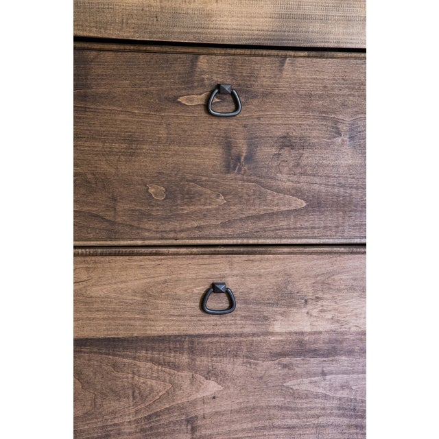 French Oak Armoire from Normandy - Image 8 of 10