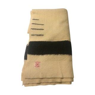 1930's Red Label Hudson Bay Blanket