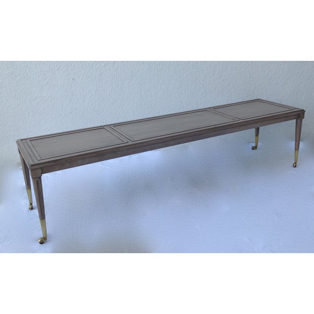 Italian Hollywood Regency Long Cocktail Table - Image 5 of 11