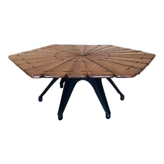 Pacific Green Wood Coffee Table