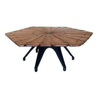 Pacific Green Wood Coffee Table