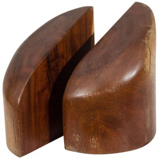 Don Shoemaker Solid Rosewood Bookends