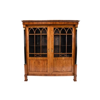 19th Century French Empire-style Bookcase or Display Cabinet