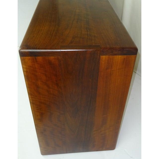 Gerald McCabe Shedua Wood Credenza c.1975 - Image 6 of 9