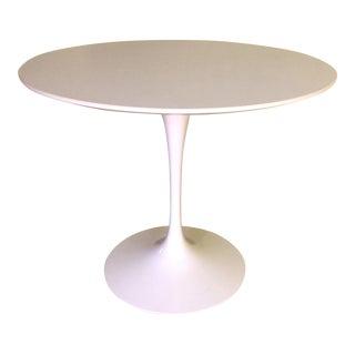 Saarinen White Laminate Tulip Table