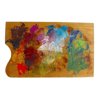 French Artist Palette