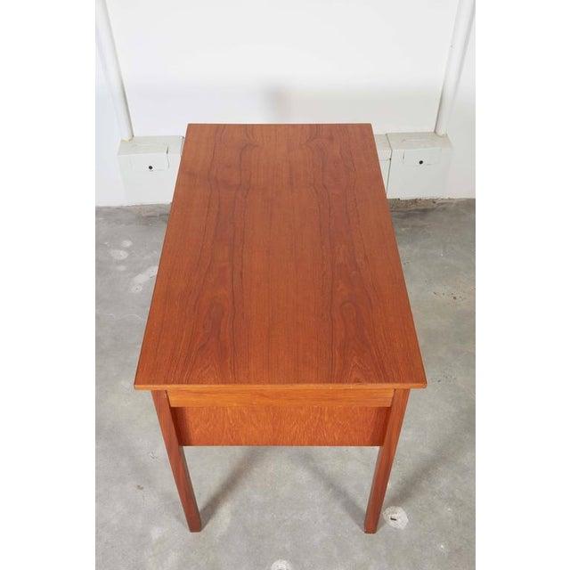 Danish Teak Desk - Image 4 of 9
