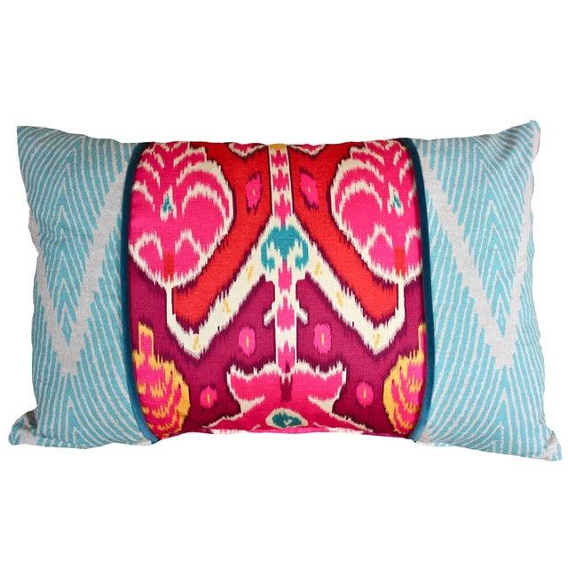 Vibrant Global Print Pillow - Image 1 of 3