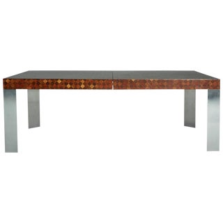 Circa 1970 Paul Evans for Directional Wood Dining Table
