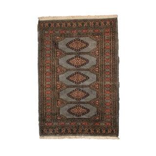 Vintage Peshawar Bokhara Rug - 2′6″ × 3′10″
