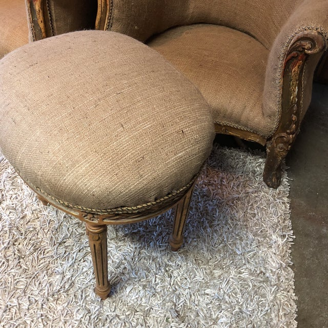 French Louis XV Neoclassical Stools - A Pair - Image 6 of 7