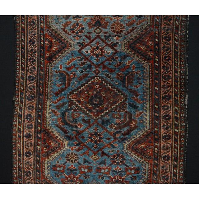 Antique Persian Khamseh Tribal Rug - 2′8″ × 3′9″ - Image 4 of 7