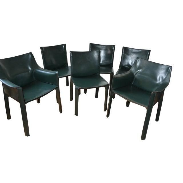 Image of Mario Bellini Cab Chairs - Set of 6