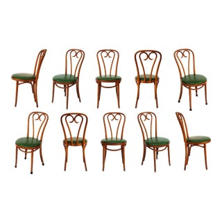 Bentwood Cafe Chairs #1 - Set of 10