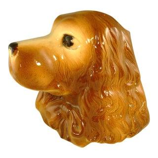 Mid-Century Royal Copley Ceramic Dog Planter