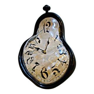 Dali Inspired Melting Wall Clock