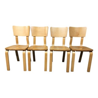 Thonet Bentwood Dining Chairs - Set of 4