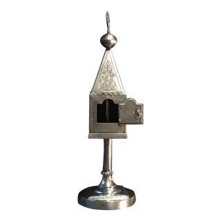 19th Century Sterling Silver Spice Tower German Hallmark