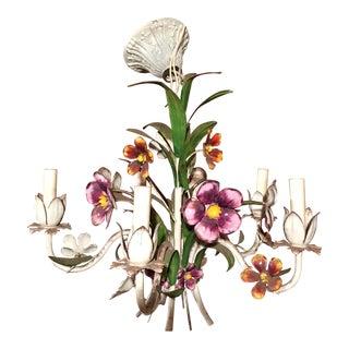 Metal Floral Chandelier
