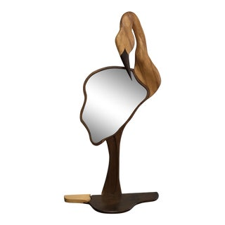 Arts & Crafts Bird Mirror