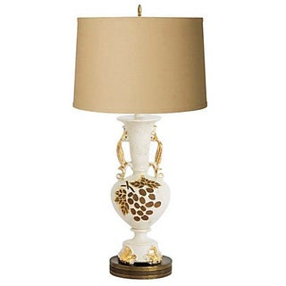Grape Motif Table Lamp