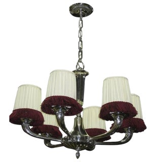 French Art Deco Ruhlmann Style Chandelier
