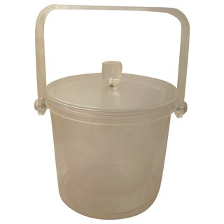 Vintage Retro Lucite Ice Bucket