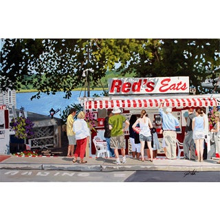 """Red's Eats,"" Giclee Print"