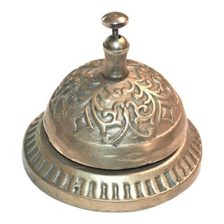 Vintage Hotel Counter Bell