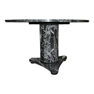 Contemporary Green Marble Dining Table