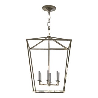 Visual Comfort Polished Nickel Darlana Lantern