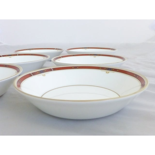 "Image of Wedgwood ""Colorado Gold"" Fruit Bowls - Set of 6"